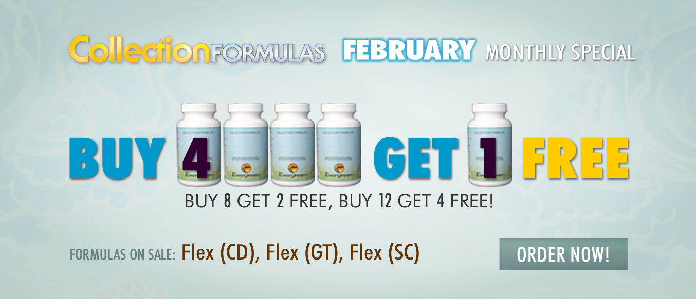 February 2020 Monthly Buy 4 Get 1 FREE Special
