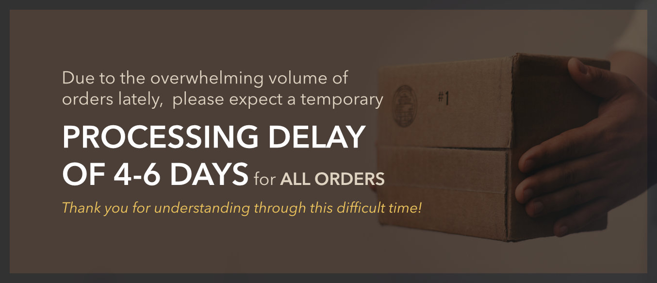 Current Process Delay: 4-6Days